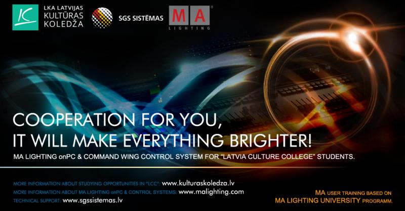 MORE EFFECTIVE LIGHTING DESIGN STUDIES IN LATVIA CULTURE COLLEGE