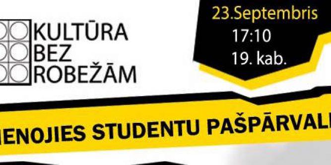 PIEVIENOJIES STUDENTU PAŠPĀRVALDEI!