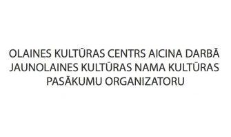 DARBS OLAINES KULTŪRAS CENTRĀ