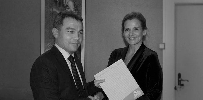 KOLEDŽAI JAUNS SADARBĪBAS PARTNERIS FERGANAS VALSTS UNIVERSITĀTE