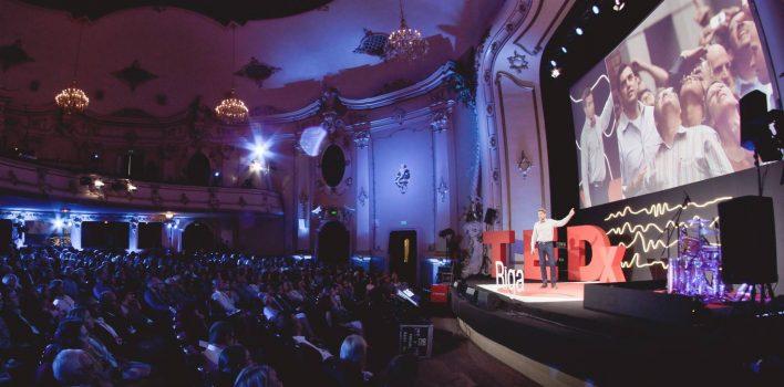 """LKK bibliotēkā notiks """"TEDxRiga 2018"""" ideju foruma tiešraide"""