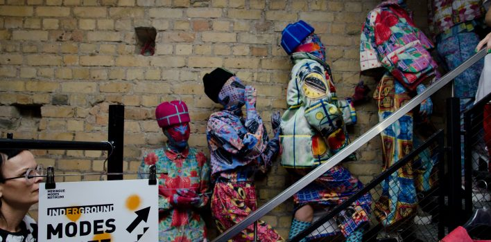 LKK menedžmenta studenti realizē Meringue modes skati UNDERGROUND