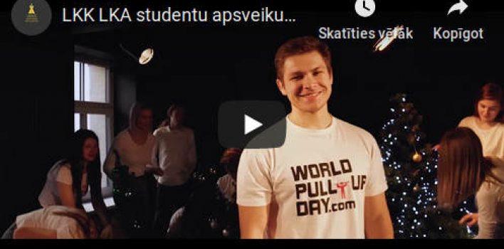 Latvijas Kultūras koledžas studenti sveic svētkos!