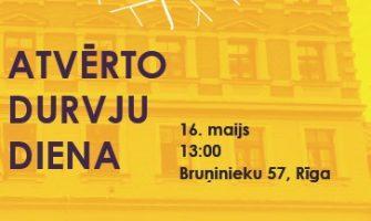 Atvērto durvju diena Latvijas Kultūras koledžā