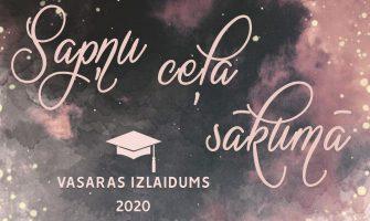 19.jūnijā notiks vasaras 2020 izlaidums
