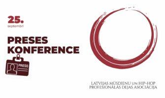 Notiks preses konference par jaunizveidoto dejas asociāciju