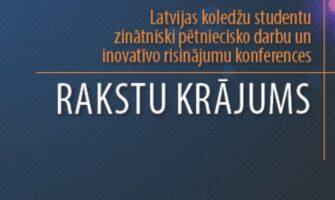 LKK absolventes raksts tiek iekļauts Latvijas Koledžu asociācijas rakstu sējumā