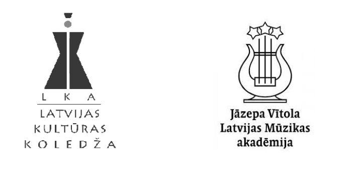 Latvijas Kultūras koledža noslēgusi sadarbības līgumu ar Jāzepa Vītola Latvijas Mūzikas akadēmiju